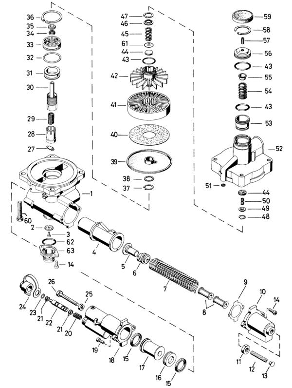 Ремонтный комплект регулятора силы торможения WABCO 475 714 500, WT/WSK.69, WTWSK69, 4757140002, Регулятор тормозных сил, 475 714 000 2, WSK.69, WSK69, WSK69WT, WSK.69/WT